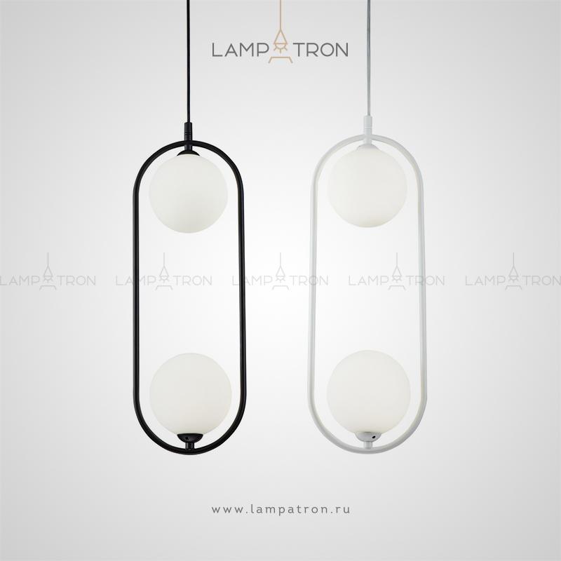 HOOP DUO BW — Люстры и Дизайнерские светильники — Lampatron.ru: магазин света
